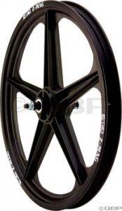 Acs Z Mag Front Wheel 5 Spoke Front Black Mag Wheel