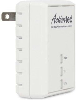Actiontec 500Mbps Powerline Ethernet Adapter Kit 2/Pack