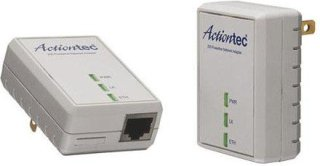 Actiontec Powerline 200Mbps Network Adapter Kit for Ethernet-Enabled Devices