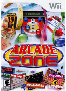 Activision Arcade Zone PRE-OWNED (Nintendo Wii)