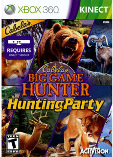 Activision Cabela'S Hunting Party: Big Game Hunter PRE-OWNED (Xbox 360)