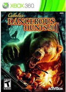 Activision Cabela's Dangerous Hunts 2011 (Xbox 360)