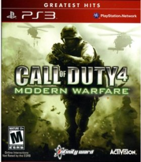 Activision Call Of Duty 4:Modern Warfare PRE-OWNED (PlayStation 3)