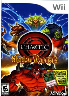 Activision Chaotic: Shadow Warriors with Irsenog Trading Card (Nintendo Wii)