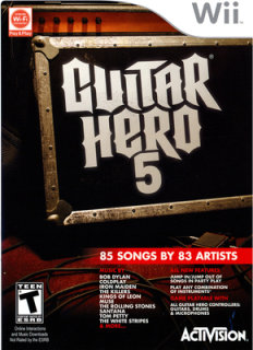Activision Guitar Hero 5 (Game Only)(Nintendo Wii)