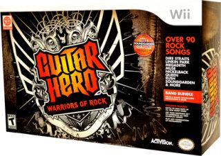 Activision Guitar Hero: Warriors of Rock (Band Bundle) (Nintendo Wii)