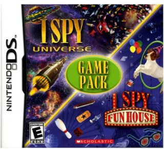 Activision I Spy Universe and Fun House Game Pack (Nintendo DS)