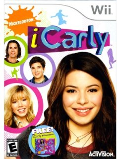 Activision iCarly with Pillow Case (Nintendo Wii)