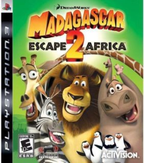 Activision Madagascar: Escape 2 Africa (PlayStation 3)