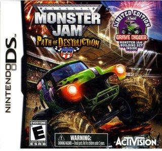 Activision Monster Jam 3 With Kinex Bundle (Nintendo DS)