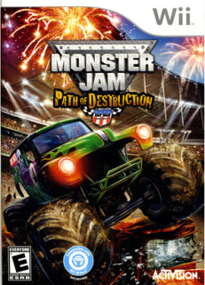 Activision Monster Jam Path Destruction PRE-OWNED (Nintendo Wii)