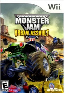 Activision Monster Jam: Urban Assault (Nintendo Wii)