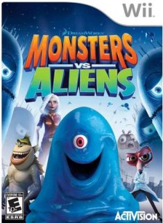 Activision Monsters vs. Aliens (Nintendo Wii)