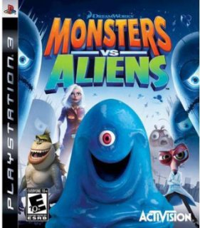 Activision Monsters vs. Aliens (PlayStation 3)