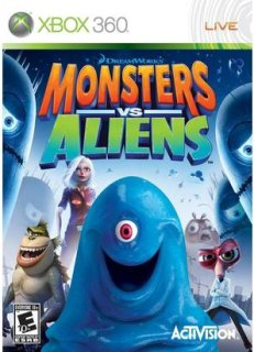 Activision Monsters vs. Aliens (Xbox 360)