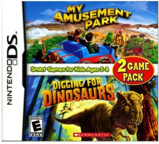 Activision My Amusement Park and Digging for Dinosaurs Game Pack (Nintendo DS)