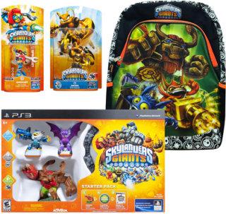 Activision Skylanders Giants Starter Kit with 2 Figures & Backpack (PlayStation