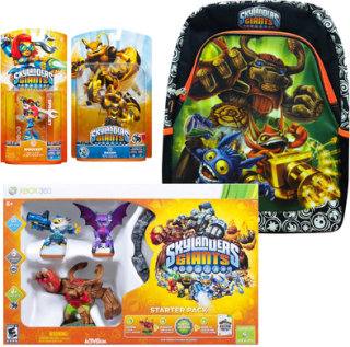 Activision Skylanders Giants Starter Kit with 2 Figures & Backpack (Xbox 360)
