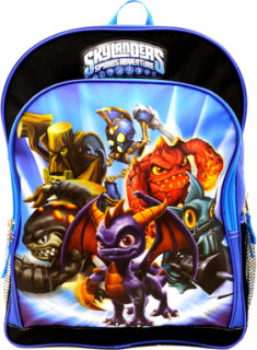 "Activision Skylander's ""Spyro and Friends"" Backpack"