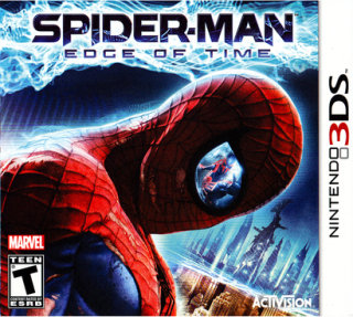 Activision Spider-Man: Edge Of Time PRE-OWNED (Nintendo 3DS)