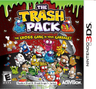 Activision Trash Pack (Nintendo 3DS)
