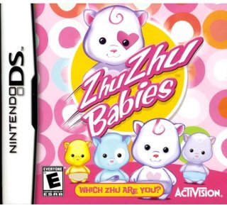 Activision Zhu Zhu Babies: Which Zhu Are you PRE-OWNED (Nintendo DS)