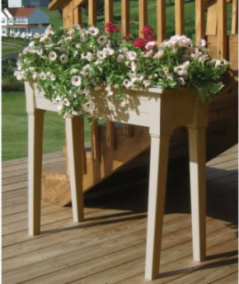 Adams 36 inch Garden Planters - Clay