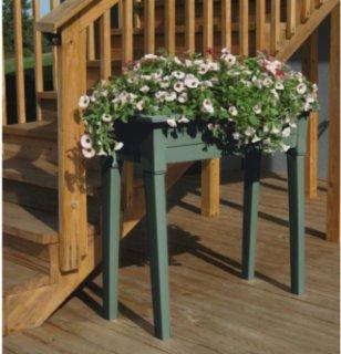 Adams 36 inch Garden Planters - Sage