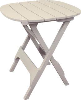"Adams Quik-Fold 34"" Bistro Table - Desert Clay"
