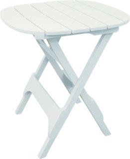 "Adams Quik-Fold 34"" Bistro Table - White"