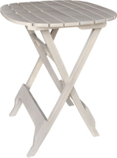 "Adams Quik-Fold 40"" Bistro Table - Desert Clay"