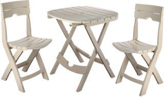 Adams Quik-Fold Cafe Set - Clay