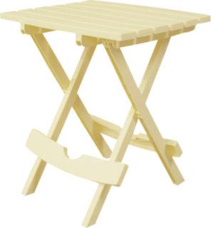 Adams Quik-Fold Side Table - Banana