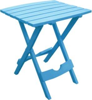 Adams Quik-Fold Side Table - Blue