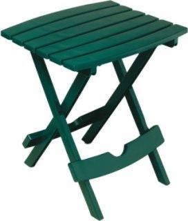 Adams Quik-Fold Side Table - Green