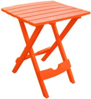 Adams Quik-Fold Side Table - Orange