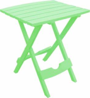 Adams Quik-Fold Side Table - Sea Green