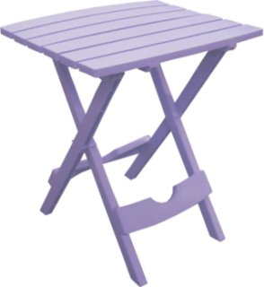 Adams Quik-Fold Side Table - Violet