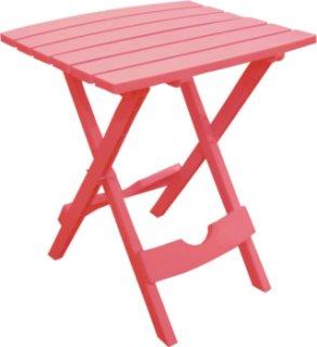 Adams Quik-Fold Side Table - Pink