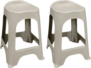 "Adams Real Comfort 24"" Barstool - Desert Clay"