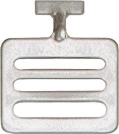 Adams Stainless Steel T-Hook for Shoulder Pad