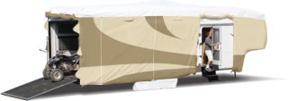 "Adco Products ADCO 5th Wheel Designer Tyvek RV Cover - 31'1"" - 34'"