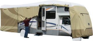 "Adco Products ADCO Class C Designer Tyvek RV Cover - 29'1"" to 32'"