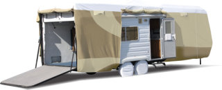 "Adco Products ADCO Toy Hauler Designer Tyvek RV Cover - 30'1"" - 33'6"""