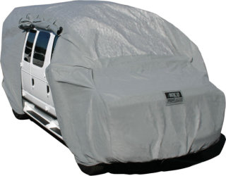 """Adco Products Class B Van SFS Aqua-Shed Cover - Medium Up to 21'/24"""" Height"""