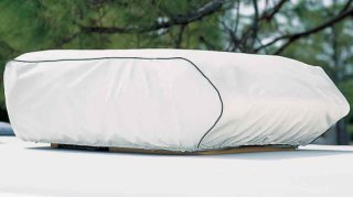 Adco Products Carrier A/C Cover - Polar White
