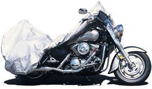 Adco Products Silvertech Motorcycle Cover-Medium