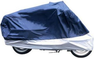 Adco Products Superior Travel Motorcycle Cover-Half Bike w/windshield liner