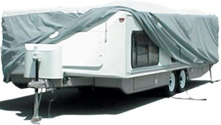 Adco Products Tyvek Cover for Hi-Lo Trailers - Up to 22.5' (Fits up to 24' Model)