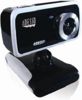 """Adesso CyberTrack V1 Desktop Webcam 1/10"""" (300K Pixels) CMOS Sensor Manual Focus USB 2.0"""